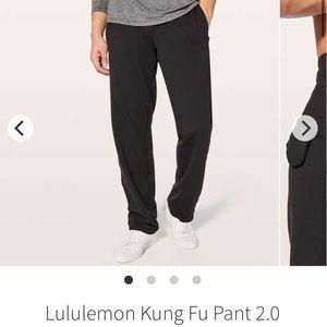 Men's Lululemon Kung Fu 2.0 pants black
